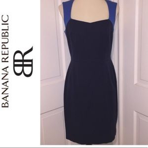 Banana Republic Color-block Dress PETITE